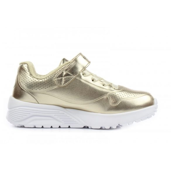 27-30 lány cipő Skechers Uno Lite Chrome Gold