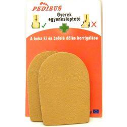 Pedibus egyenesléptető sarokék ( 1 pár)