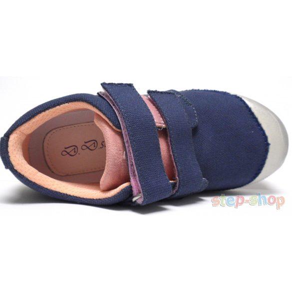 31-36 lány vászoncipő D.D.step 049-544BL