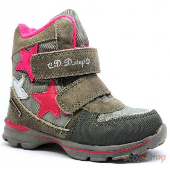 30-35 lány vízálló hótaposó D.D.step F651-706L